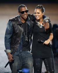 "Jay-Z and Alicia Keys in ""Empire State of Mind"""