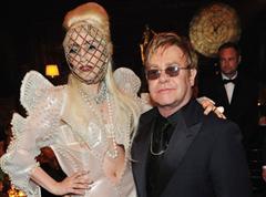 Lady gaga ed Elton John