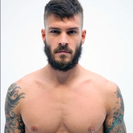 Beard sexy man