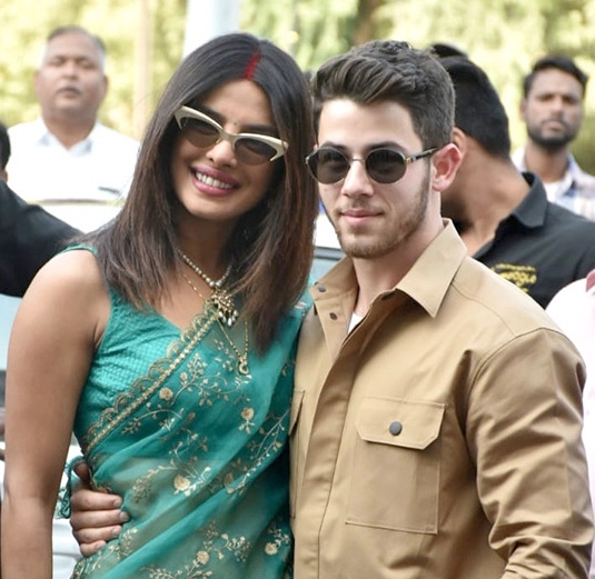 Priyanka Chopra And Nick Jonas In 2018