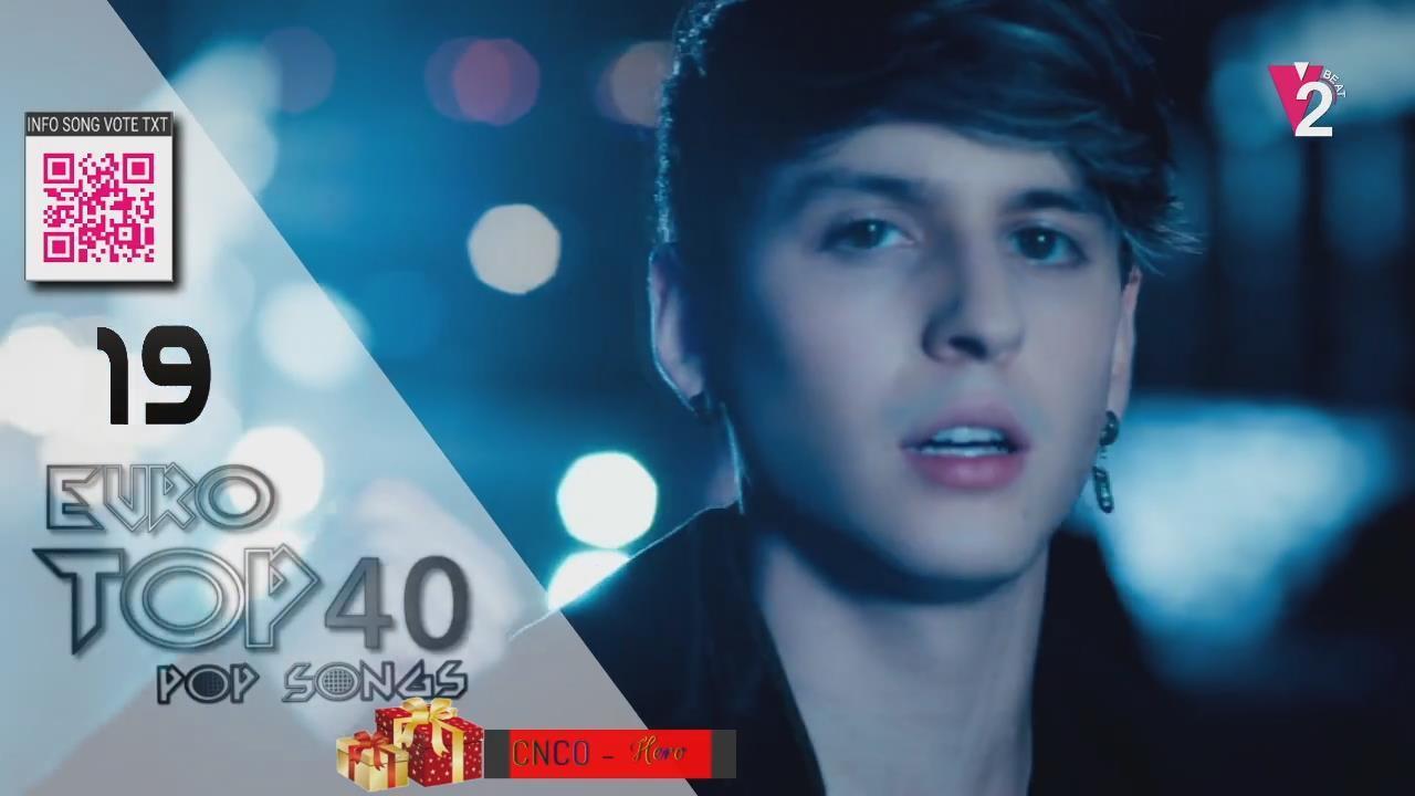European Top 40 pop music charts